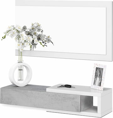 mueble recibidor moderno pequeño